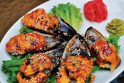 Вкусные закуски из морепродуктов