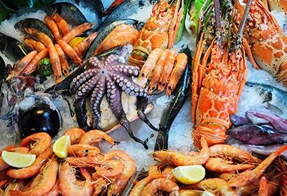 Морепродукты и здоровое питание
