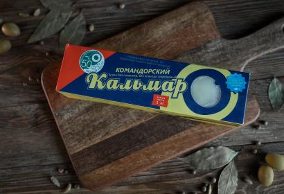 Кальмар Командорский тушка (филе) с/м