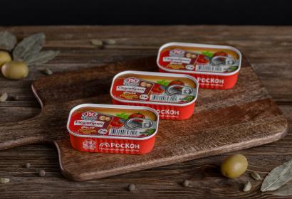 Скумбрия атлантическая филе бланшированная в томатном соусе