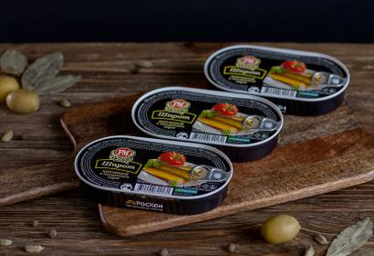 Шпрот копченый в томатном соусе