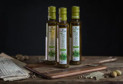Cretan Mill оливковое масло Extra Virgin с орегано