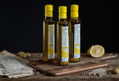 Cretan Mill оливковое масло Extra Virgin с лимоном
