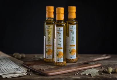 Cretan Mill оливковое масло Extra Virgin с апельсином