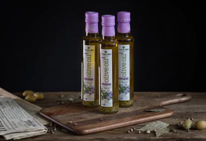 Cretan Mill оливковое масло Extra Virgin с розмарином