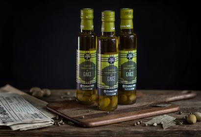 Cretan Mill оливковое масло Extra Virgin с оливками