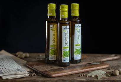 Cretan Mill оливковое масло Extra Virgin с базиликом