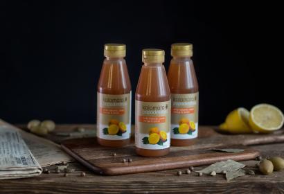 Бальзамический соус с апельсином и лимоном PAPADIMITRIOU