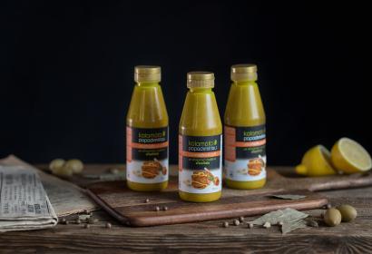 Kalamata Papadimitriou горчица с медом и оливковым маслом