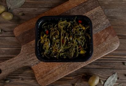 Салат из морской капусты с болгарским перцем
