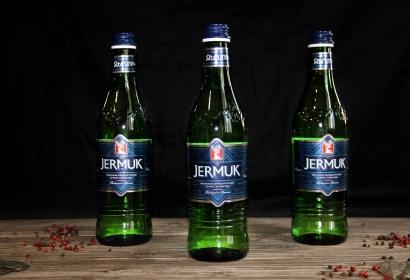 Вода JERMUK минеральная природная лечебно-столовая газированная